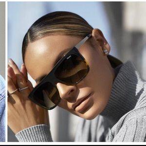 Quay Australia OTL II Sunglasses In Black & Brown